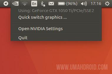 NVIDIA Prime Indicator Ubuntu
