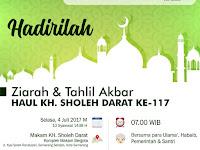 Ziarah dan Tahlil Akbar Haul KH Sholeh Darat ke-117