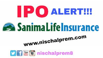 sanima+life+insurance+ipo+nepal+share+market