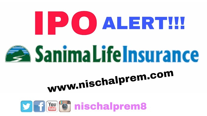 Sanima Life Insurance issues IPO to general Public