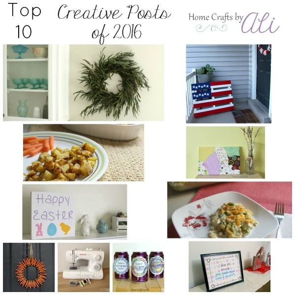10 most popular creative posts on Home Crafts by Ali in 2016
