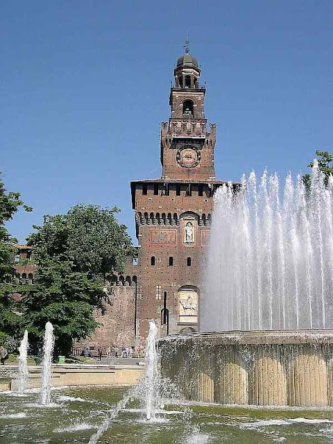 Castelo Sforza, Milão.