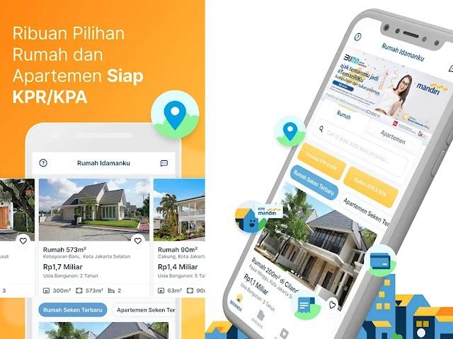Aplikasi Rumah Idamanku (RIKu) dari Bank Mandiri Mudahkan Cari Hunian Impian