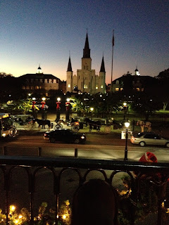 New Orleans French Quarter St. Louis Cathedral Christmas