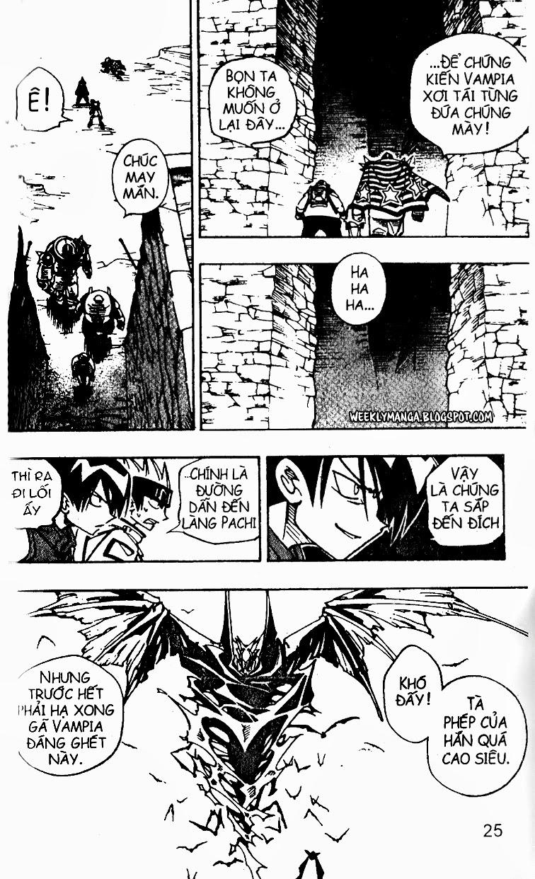 Shaman King [Vua pháp thuật] chap 98 trang 15