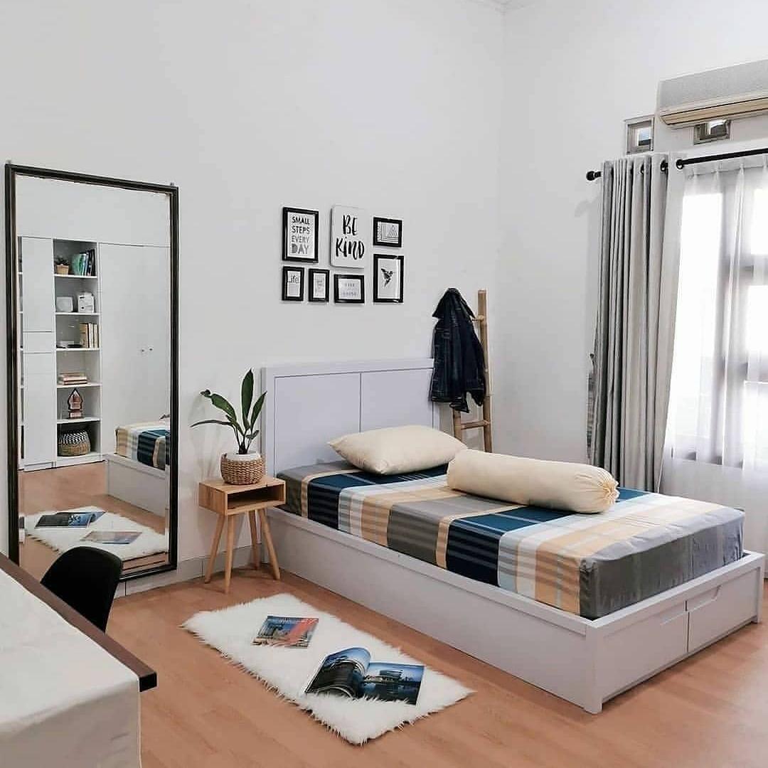 10 Desain Kamar Tidur Remaja Minimalis Ukuran 3x3 Simple Tapi Keren Ndekorrumah