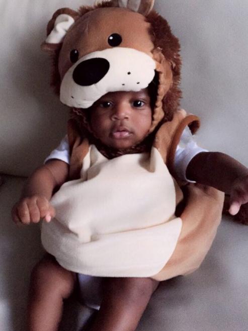tiwa savage baby boy photos