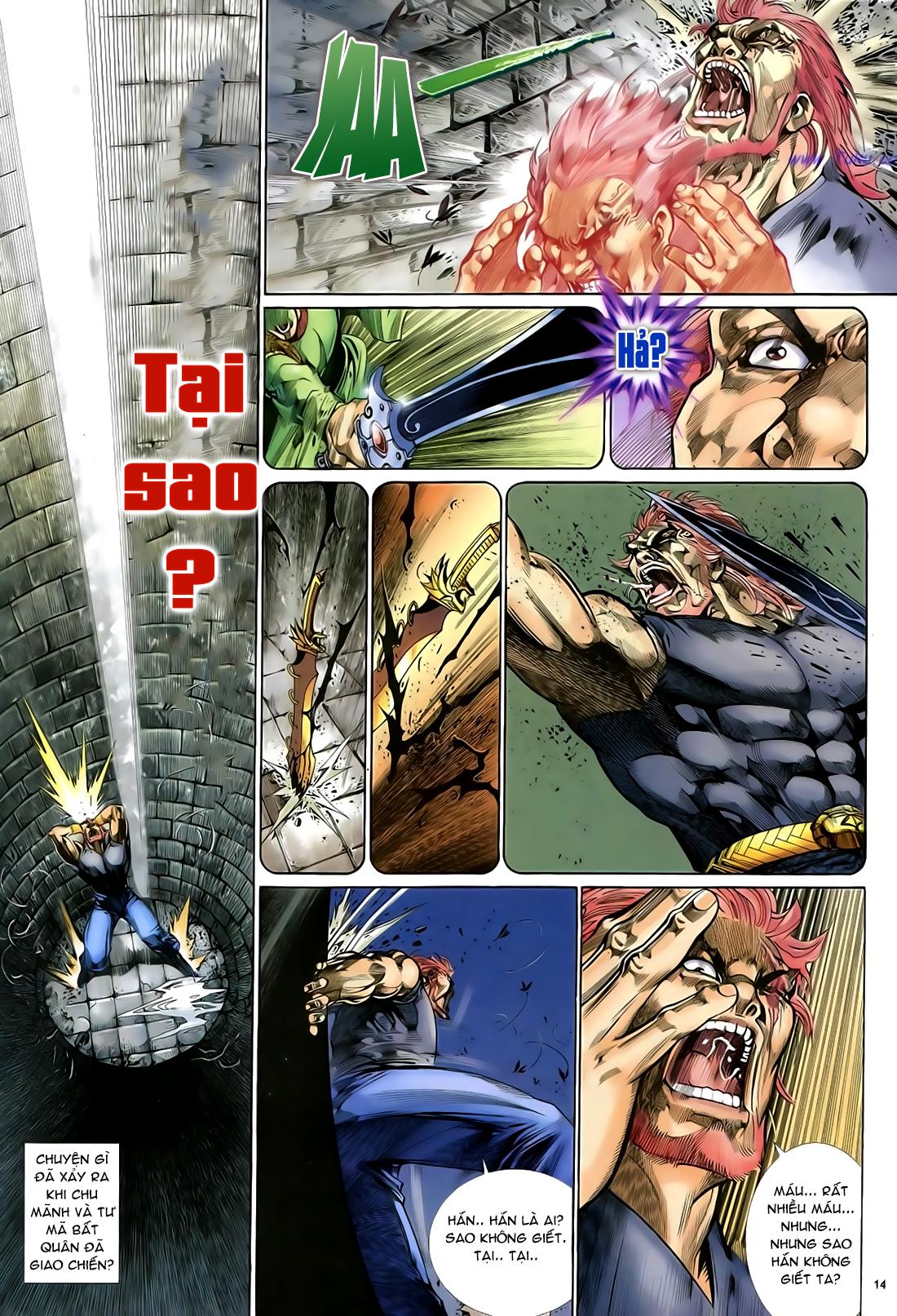 Anh hùng vô lệ Chap 29 trang 15