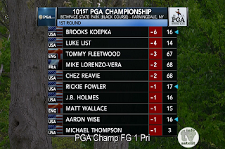 PGA Bethpage Black AsiaSat 5 Biss Key 17 May 2019