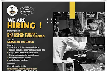 Loker Bandung Karyawan Kue Balok Sikomo