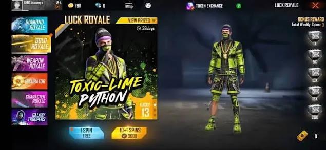 Toxic-Lime Python