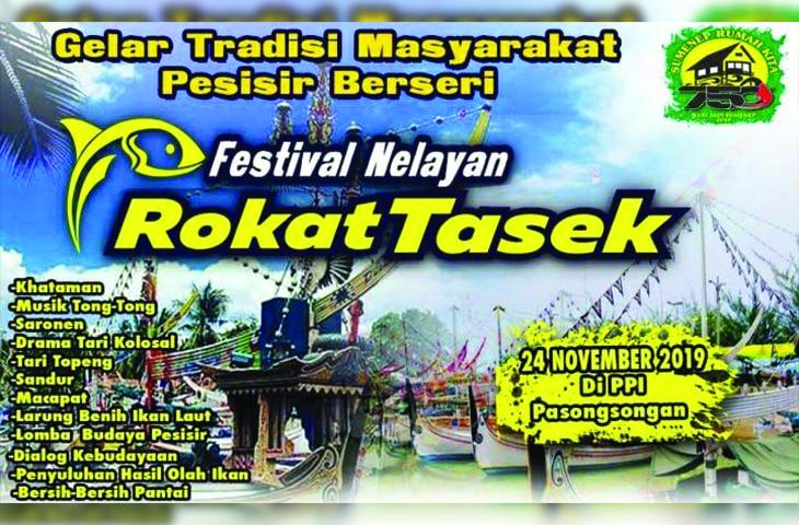 Festival Nelayan Rokat Tase' di PPI Pasongsongan