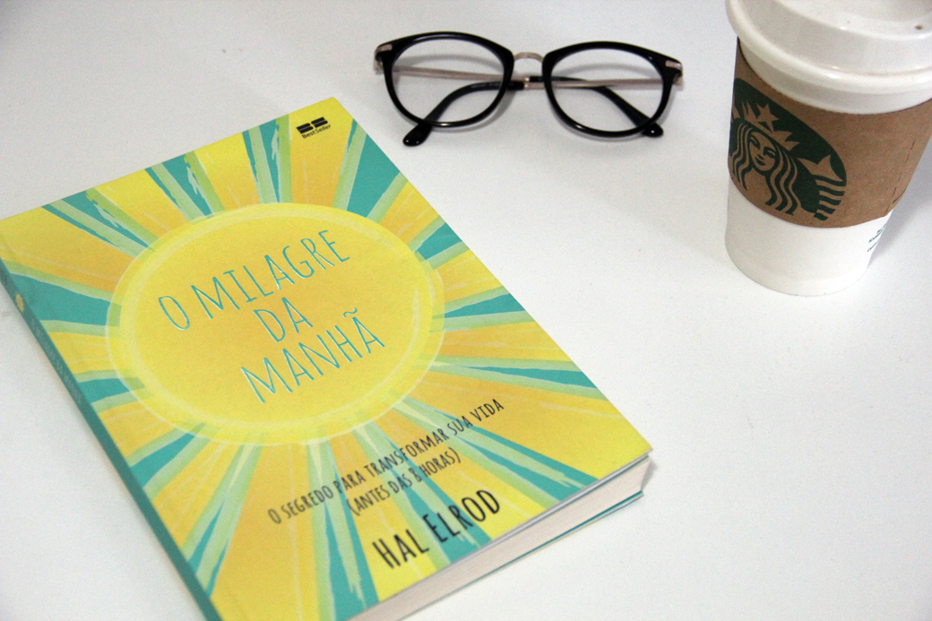 Livro 'O Milagre do Amanhã'