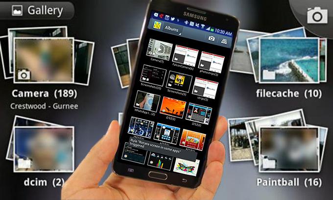 حذف الصور من الاستديو في سامسونج جلاكسي والتي لا يمكن حذفها Youtube