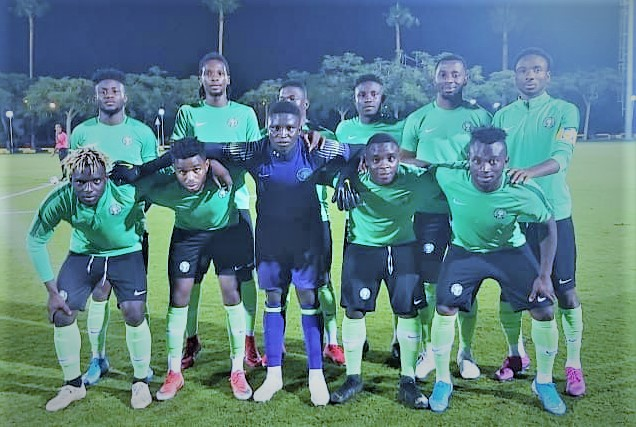 Sports: Olympic Eagles To Face Cote d'l Voire In U-23 AFCON