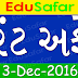 Current Affairs 1 to 3 December [Gujarati]