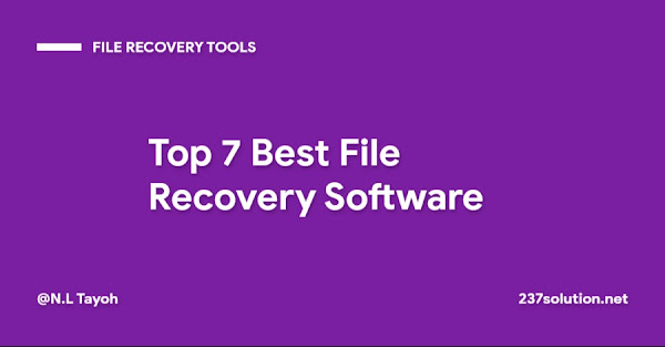 Top 7 Best File Recovery Software