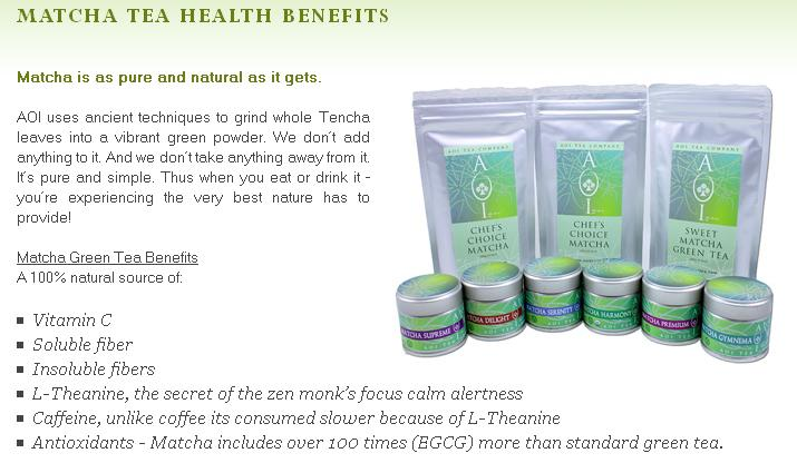 Aoi Matcha Tea Company 12 Amazing Health Benefits Of