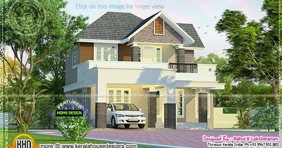 Wondrous News And Article Online Beautiful Little Double Storied House Largest Home Design Picture Inspirations Pitcheantrous