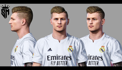 PES 2021 Faces Toni Kross V2 by Sameh Momen