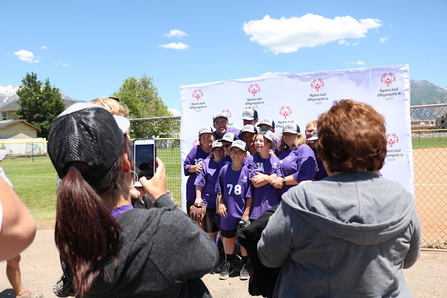 Winning tee-ball team at Special Olympics Utah