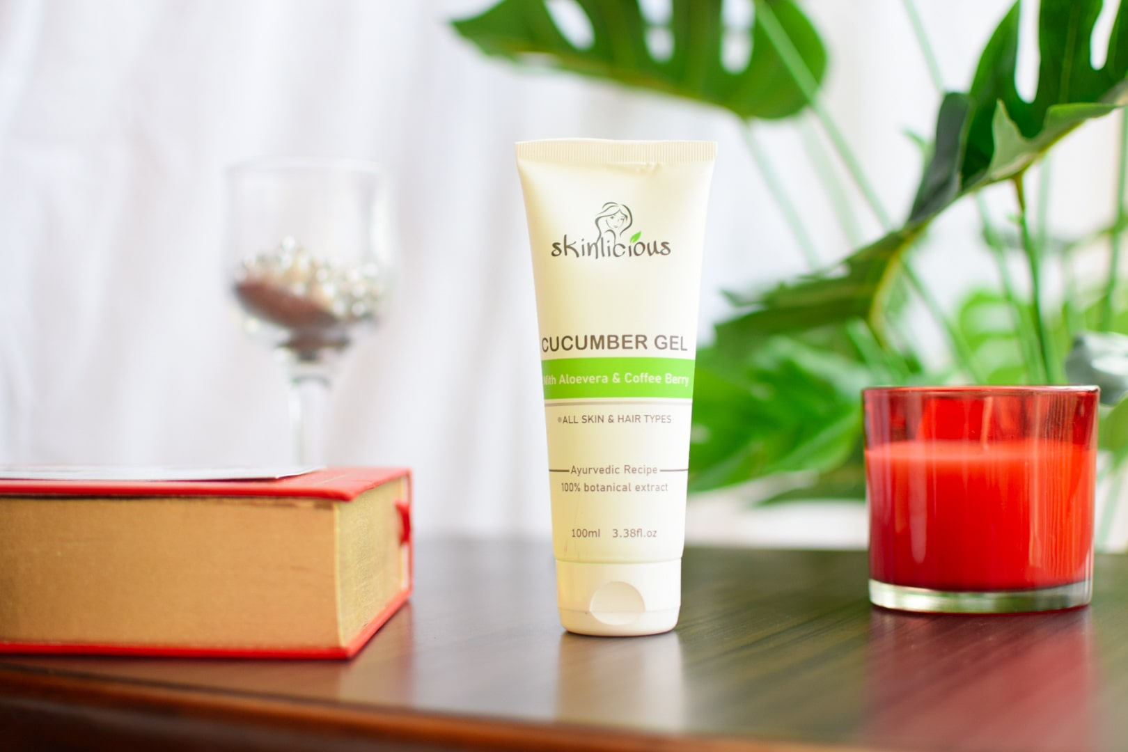 SKINLICIOUS Cucumber Beauty Gel for Skin & Hair