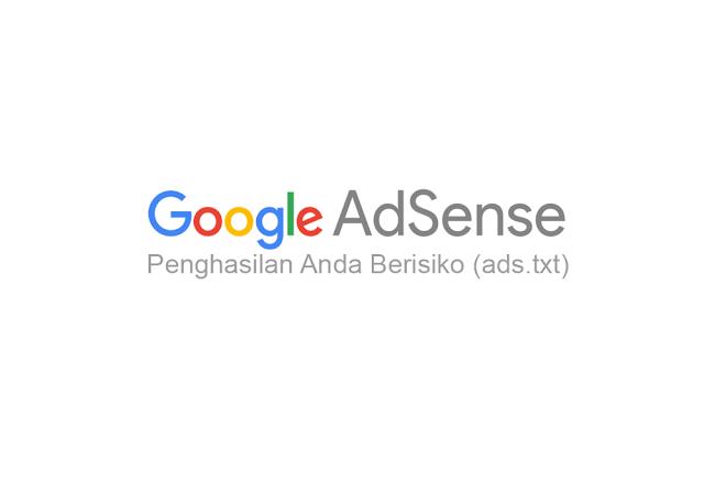 memperbaiki masalah ads.txt di AdSense