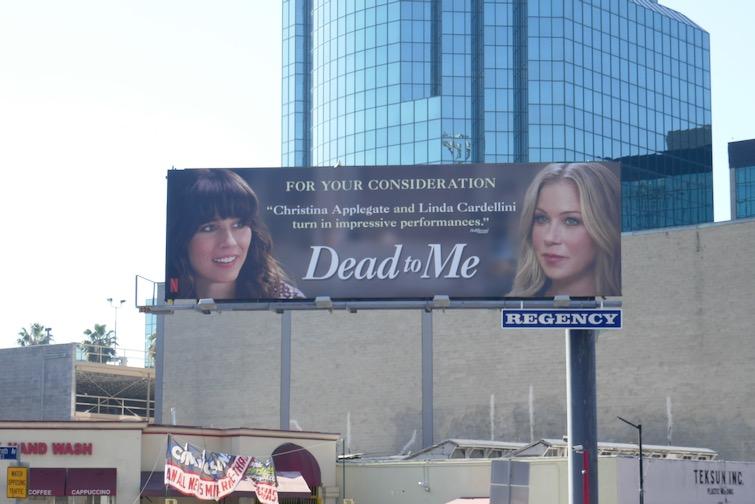Dead to Me 2021 FYC billboard