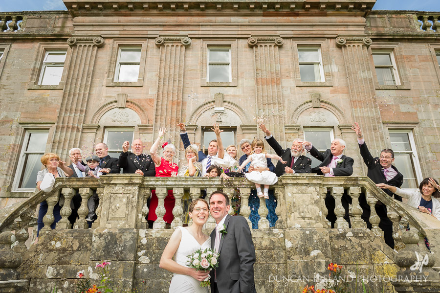 Springkell Mansion House Wedding