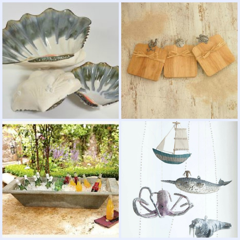 Coastal hostess gifts