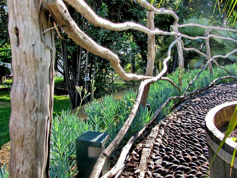 a detail in Quinta das Cruzes
