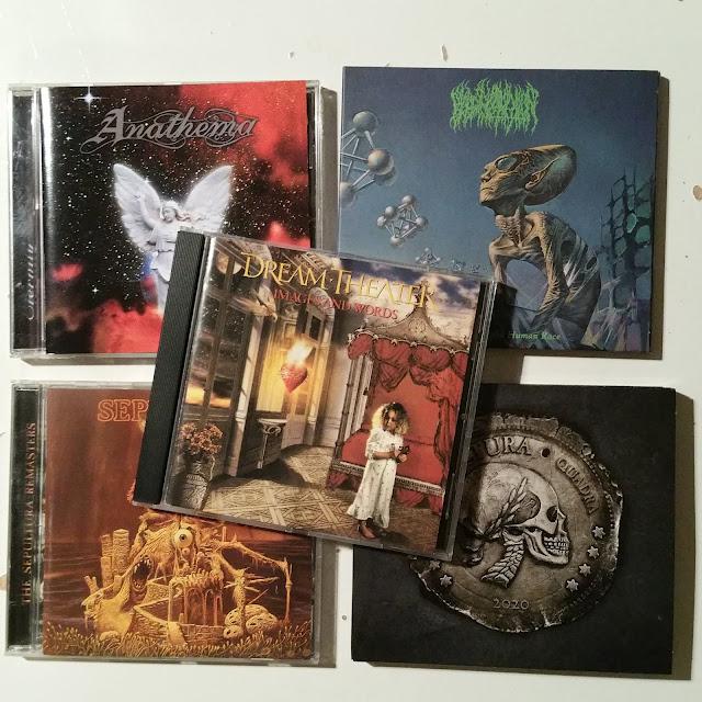 Sepultura, Blood Incantation, Dream Theater et Anathema (notes métalliques)