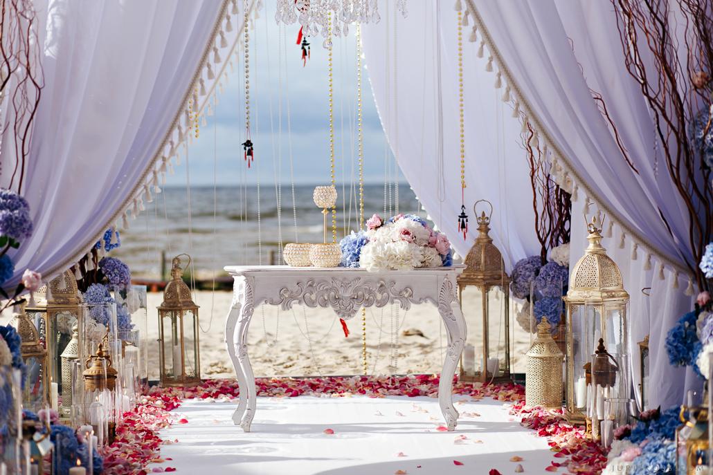 Amber Fiesta augstākā līmeņa kāzu dekorēšana