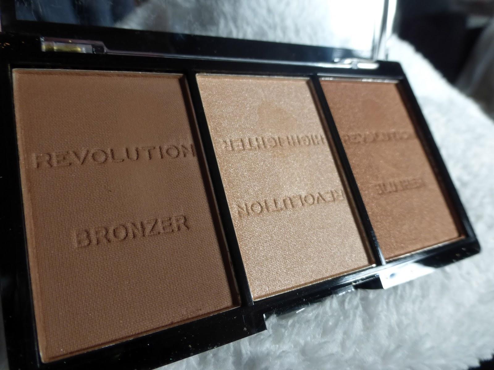 Review Makeuprevolution Ultra Sculpt Contour Kit Light Medium C04 Brightening Fair C01