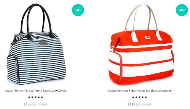 Stylish Fashion Breastfeeding Breast Pump Bag
