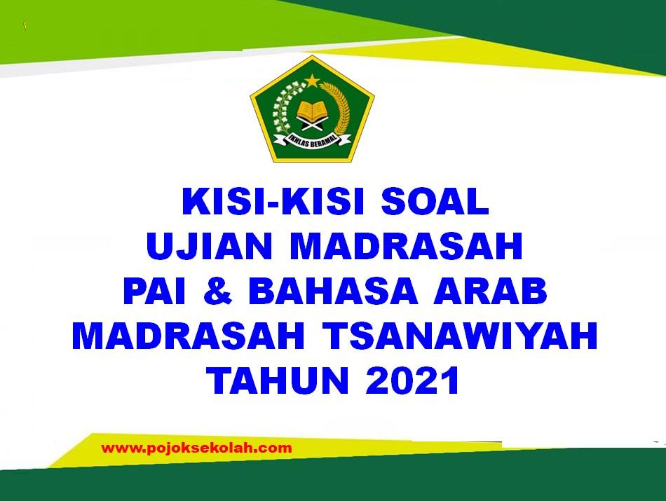 Kisi-kisi Soal Ujian Madrasah Mapel PAI