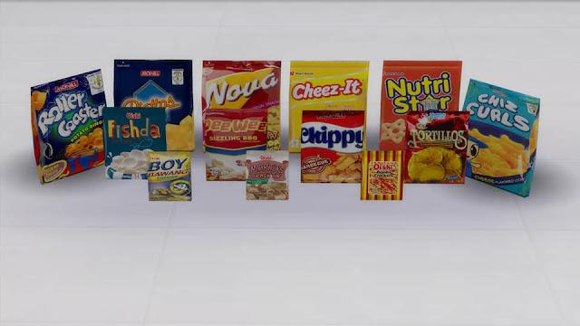 Sims 4 Pinoy Stuff Pack Pinoy Chichirya