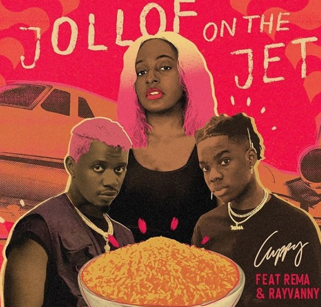 "Cuppy x Rema x Rayvanny – ""Jollof On The Jet"" (Mp3 Download)"