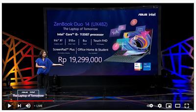 harga Asus ZenBook Classic 2021