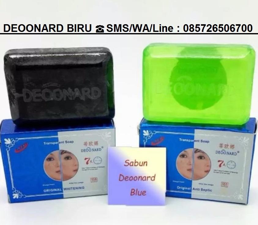 Deoonard 7 Days Whitening Cream Krim Pemutih Wajah: Cream Deoonard Biru Penghilang Jerawat
