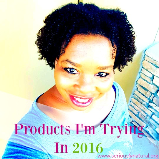 5 Natural Hair Products I'm Trying In 2016