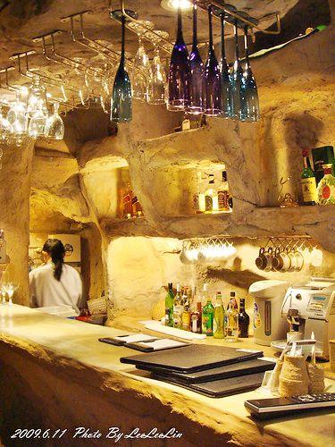 花蓮理想大地渡假飯店 奇萊酒吧 奇萊山屋酒吧~馬鞍椅好特別