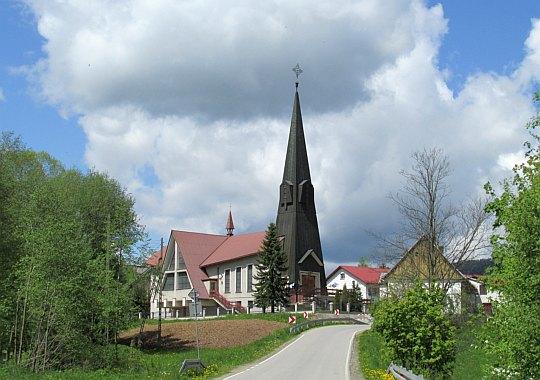 Kościół w Młyńczyskach.
