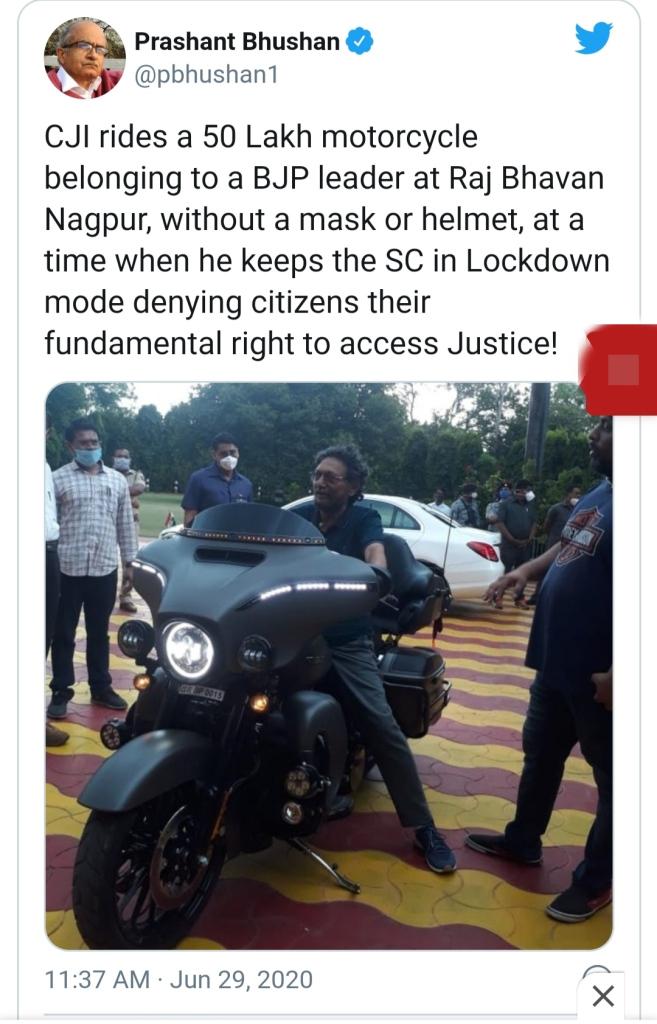 Prashant Bhushan behaviour 'irresponsible', judges should 'avoid ...