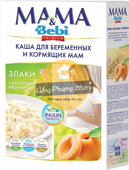 Ngũ cốc dinh dưỡng cho mẹ bầu và nuôi con bú Mama & Bebi Premium