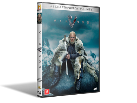 Vikings - 6ª Temporada - Volume 1