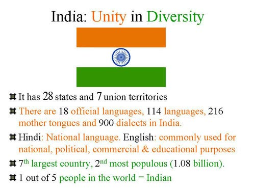 Essay writing 101: Unity In Diversity