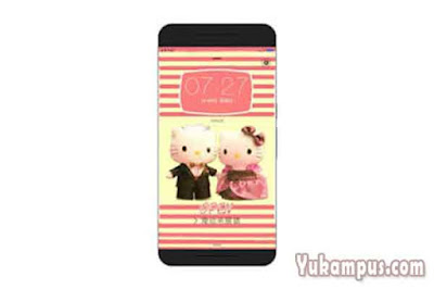 tema xiaomi hello kitty