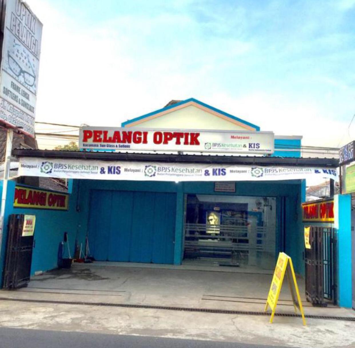 Optik Pelangi Rembang Melayani BPJS Dan KIS Buka Senin - Sabtu Jam 08.00 - 19.30