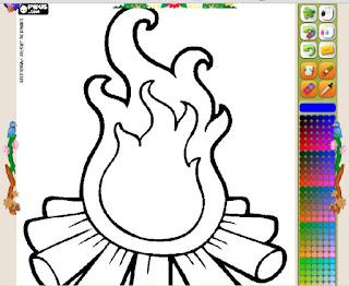 http://www.colorirgratis.com/desenho-de-fogueira_9625.html